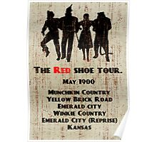 The Red Shoe Tour Poster