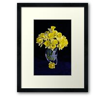 Spring Has Sprung...So I Brought It Indoors! Framed Print