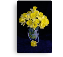 Spring Has Sprung...So I Brought It Indoors! Canvas Print