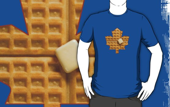 Toronto Maple Leafs - Waffles by phigisus