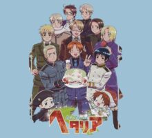 Hetalia Tee One Piece - Short Sleeve