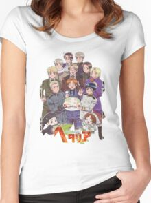 Hetalia Tee Women's Fitted Scoop T-Shirt