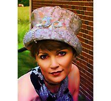 Semi-Sane Hatter Photographic Print