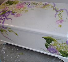 Painted Trunk by Cathy Amendola