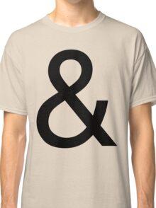 Ampersand (Helvetica) Classic T-Shirt