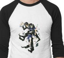 Ciel in Wonderland Men's Baseball ¾ T-Shirt