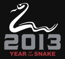 Year of The Snake 2013 T-Shirt One Piece - Short Sleeve