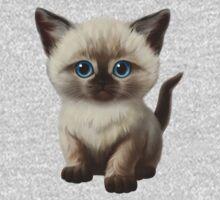 Cataclysm- Siamese Kitten Classic Kids Tee
