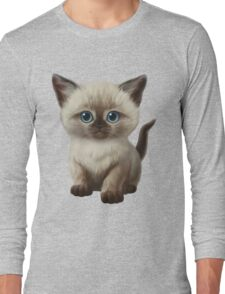 Cataclysm- Siamese Kitten Classic Long Sleeve T-Shirt