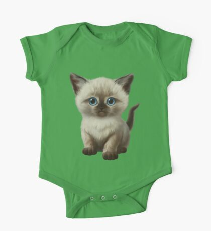 Cataclysm- Siamese Kitten Classic One Piece - Short Sleeve