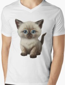 Cataclysm- Siamese Kitten Classic Mens V-Neck T-Shirt