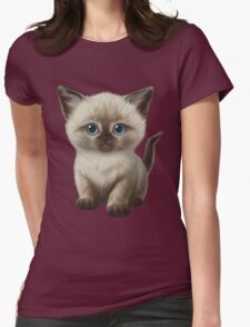 Cataclysm- Siamese Kitten Classic Womens Fitted T-Shirt