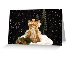Angels Keeping Watch Greeting Card