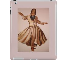 The Remembrance of Allah - A Sufi Whirling Dervish iPad Case/Skin