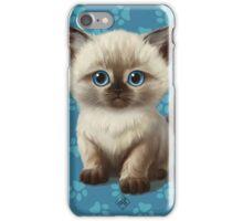 Cataclysm: Siamese Kitten Paws iPhone Case/Skin