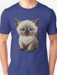 Cataclysm: Siamese Kitten Paws Unisex T-Shirt