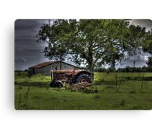 Down and Out Canvas Print
