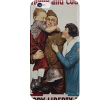 For home and country Victory Liberty Loan iPhone Case/Skin