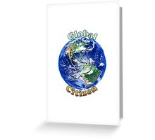 Global Citizen Peace Dove Greeting Card