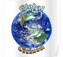 Global Citizen Peace Dove Poster