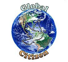 Global Citizen Peace Dove Photographic Print