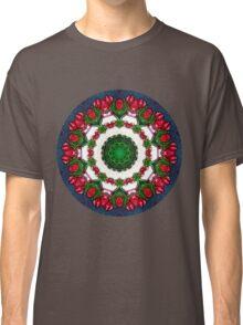 Abstract Roses Mandala 5 Classic T-Shirt