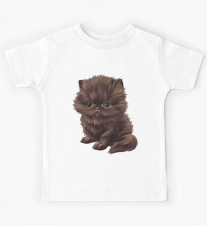 Cataclysm - Persian Kitten - Classic Pattern Kids Tee