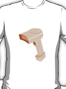 barcode scanner reader retro T-Shirt