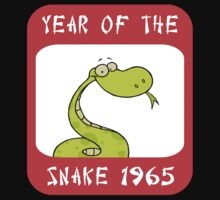 Year of The Snake 1965 T-Shirt Kids Tee