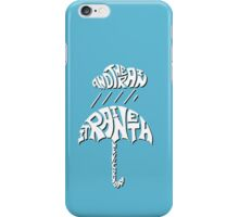 It Raineth Every Day - White 3D iPhone Case/Skin