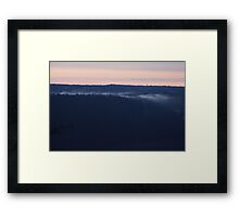 Sulphur Bank at Dawn Framed Print