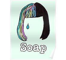 """Soap"" Hair Design Poster"