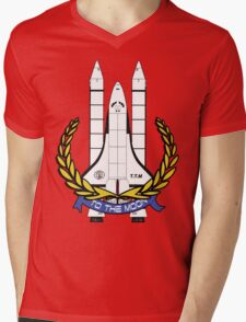 shuttle Mens V-Neck T-Shirt