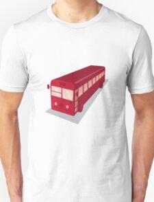 vintage shuttle bus coach retro T-Shirt