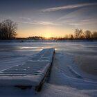 Sunrise and the Dock by John Davenport