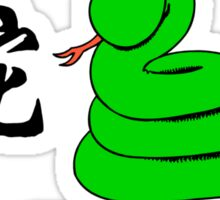 Born Year of The Snake 2013 T-Shirt Sticker