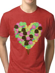 ice cream lover Tri-blend T-Shirt
