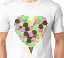 ice cream lover Unisex T-Shirt