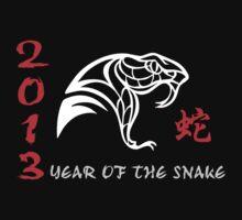 Chinese Year of The Snake 2013 T-Shirt by ChineseZodiac