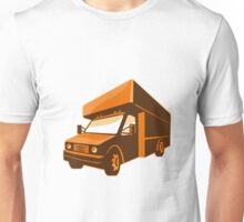 moving truck delivery van retro Unisex T-Shirt