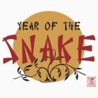 Year of The Snake T-Shirt by ChineseZodiac