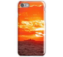 Setting On Serenity iPhone Case/Skin