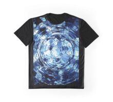 Blue Web Graphic T-Shirt