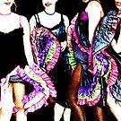 Dancing gals by NIKULETSH