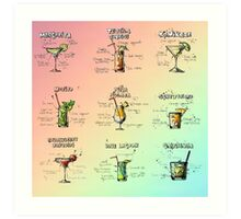how to make the perfect drink Art Print