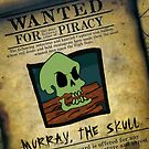 Monkey Island - WANTED! Murray, the Skull by Rastaman