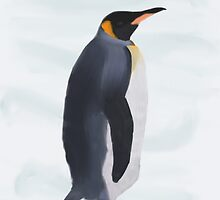 Emperor Penguin by Stacy Parker