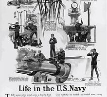 Life in the US Navy Secretary Daniels says No man who has served in the Navy leaves the service without being far better equipped to earn his living than he was before he enlisted 002 by wetdryvac