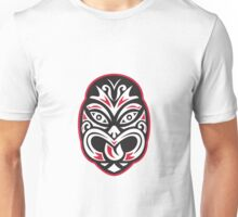 maori tiki moko tattoo mask Unisex T-Shirt