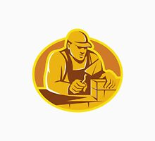 mason brick layer construction worker Unisex T-Shirt